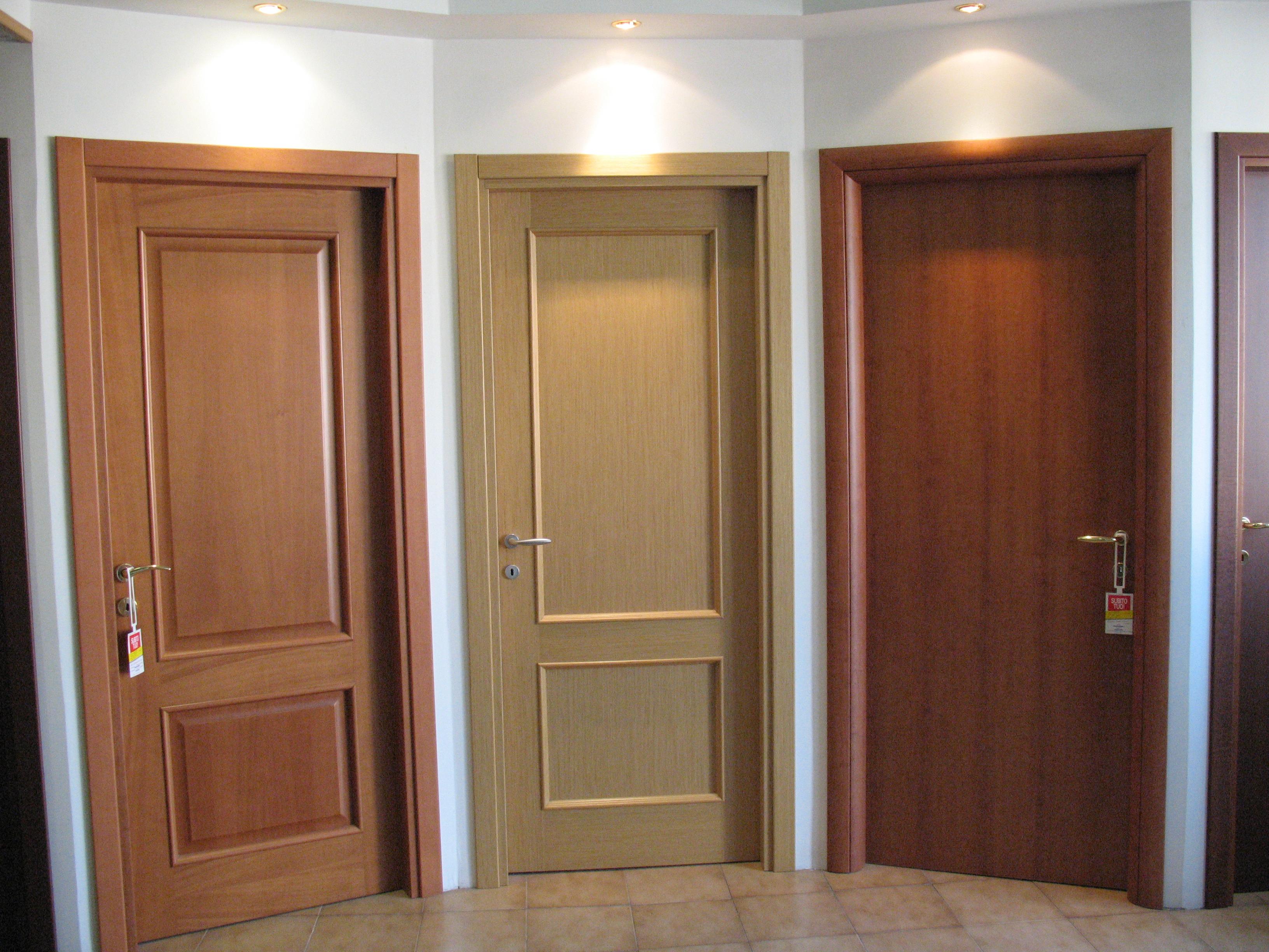 Show room porte da interni 45 54 la falegnameria - Porte da interni ...